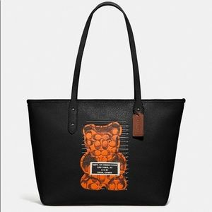 NEW AUTHENTIC Coach City Zip Vandal Gummy Tote